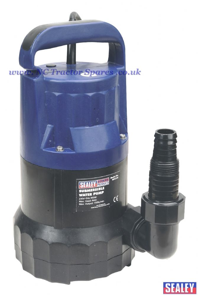 Submersible Water Pump 150ltr/min 230V